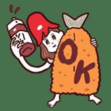 otsumami-girl sticker #531907