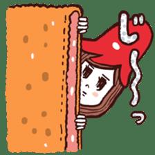 otsumami-girl sticker #531908