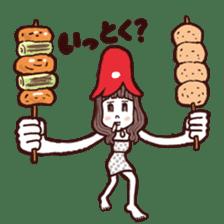 otsumami-girl sticker #531913
