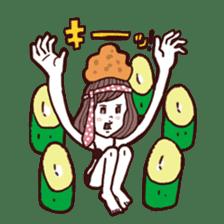 otsumami-girl sticker #531916