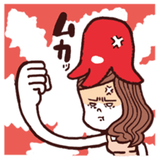 otsumami-girl sticker #531919