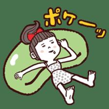 otsumami-girl sticker #531924