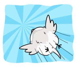 Java sparrow brother sticker #533056