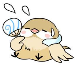Java sparrow brother sticker #533063