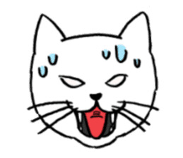 hard boiled cats sticker #534663