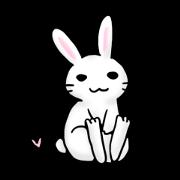 สติ๊กเกอร์ไลน์ Invective rabbit