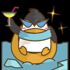 Lulu, the funny penguin
