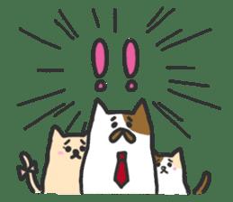 Cat's family sticker #538123