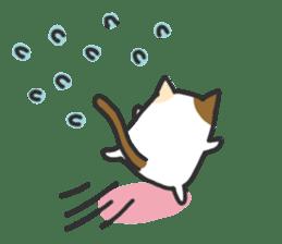 Cat's family sticker #538127