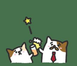 Cat's family sticker #538128