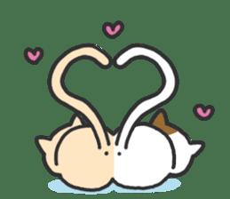 Cat's family sticker #538129