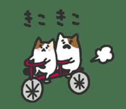 Cat's family sticker #538132