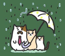 Cat's family sticker #538137
