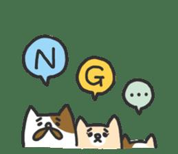 Cat's family sticker #538148