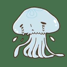 Jellyfish sticker #538196