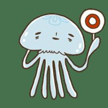 Jellyfish sticker #538201
