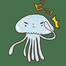 Jellyfish sticker #538205