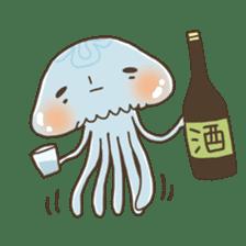 Jellyfish sticker #538209