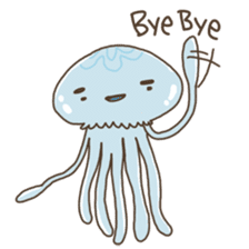 Jellyfish sticker #538221