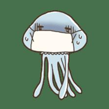 Jellyfish sticker #538222