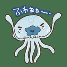 Jellyfish sticker #538226