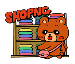 Bear Bear stamps sticker #539512