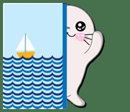 Baby Seal & Owly sticker #540758