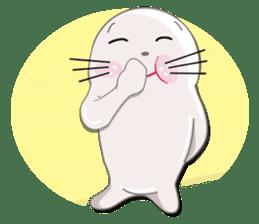 Baby Seal & Owly sticker #540770