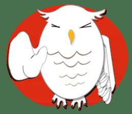 Baby Seal & Owly sticker #540772