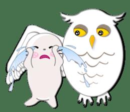Baby Seal & Owly sticker #540777
