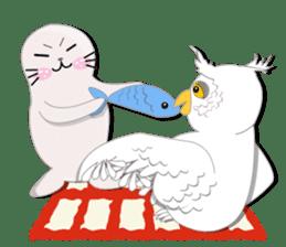 Baby Seal & Owly sticker #540785