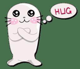Baby Seal & Owly sticker #540788