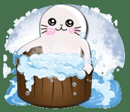 Baby Seal & Owly sticker #540791