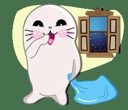 Baby Seal & Owly sticker #540792