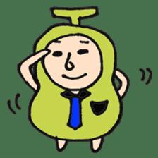 pear man sticker #540838