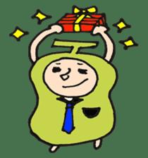 pear man sticker #540839