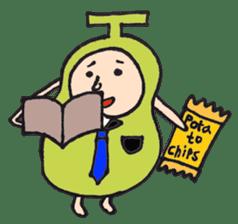 pear man sticker #540844