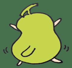 pear man sticker #540849