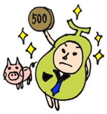 pear man sticker #540852