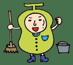 pear man sticker #540855
