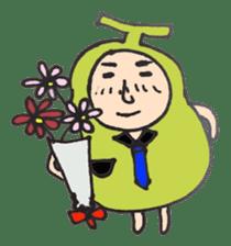 pear man sticker #540859