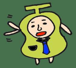 pear man sticker #540866