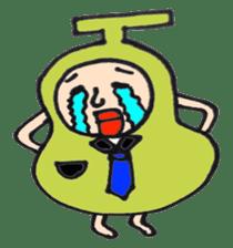 pear man sticker #540868