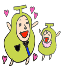 pear man sticker #540871