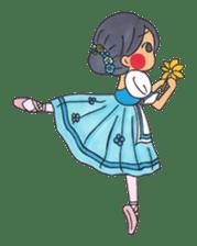 Ballerina's Life sticker #540889