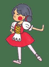Ballerina's Life sticker #540890