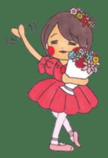 Ballerina's Life sticker #540902