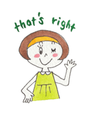 Marron and funny friends (English) sticker #540967