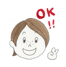 Marron and funny friends (English) sticker #540971