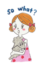 Marron and funny friends (English) sticker #540978